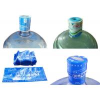 Buy cheap 5 Gallon Water Bottle Neck Seal Shrink Sleeve With Custom Printing from Wholesalers