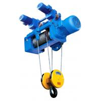 Buy cheap CD / MD Type Electric Wire Rope Crane Hoist with Lifting Capacity 0.5~50ton from wholesalers