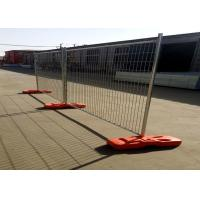 China Custom Temporary Fence Panels Commercial Galvanized Steel Welded Wire Fence on sale