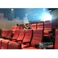 China 220V 4D Cinema System With Hollywood Movies / Home Theater Seats factory