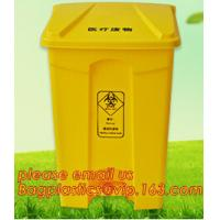 China cheap square medical sharp needles disposal sharps container, sharps disposal container, plastic disposable bin, hospita factory