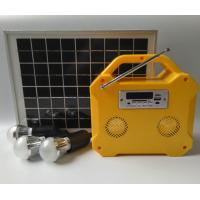 China Camping Small Solar Panel Light Kit Off Grid Solar Power Systems LED Screen factory