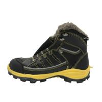 China Warm Synthetic Fur Steel Shank Work Shoes , Electrician Work Shoes EH Protection factory