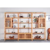Buy cheap Pinewood Multi Storey Shop Display Showcase Home Storage Cabinet With Door from Wholesalers