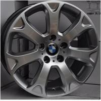 China wholesale car alloy wheel 19 inch car aluminum alloy rims 120(mm)PCD, hyper silver machined face, chrome