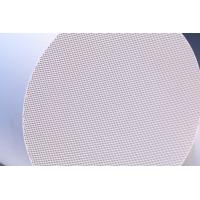 China Exhaust Gas Purifier , Diesel honeycomb ceramic filter For Car , motorcycle factory