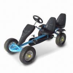 China Go Kart with Free Wheel, Rear Handbrake and Durable Plastic Fender factory