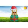 Children Inflatable Advertising Spongebob Christmas Present
