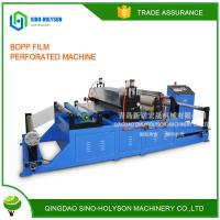 Buy cheap SINO-HS NEW CONDITION HIGH PERFORMANCE BOPP FILM  PERFORATED MACHINE from Wholesalers