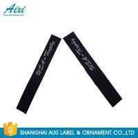 China Garment Woven Clothing Label Tags Satin / Silk Printing Fast - Delivery factory