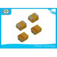 China Small Size Case P SMD Tantalum Capacitor High Stability With Automatic Place Equipment on sale