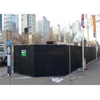 China Customized You Own Size Temporary Acoustic Barriers Reduction 20dB 30dB 40dB Max 50dB Noise on sale