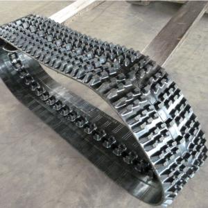 China Rubber Crawler for Robot Snowmobile WD300x72x36 Snow Blower, Snowcat, Snow track factory