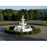 China Stone carving fountain white marble carving sculpture,stone carving supplier factory