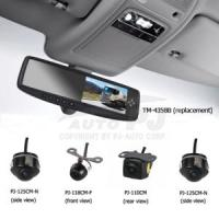 Buy cheap 5-Way Video Input OEM-Style Parking Aid (PJ-4358B-RS) from Wholesalers