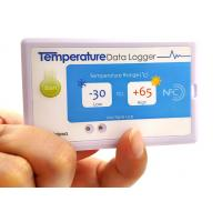 China IP67 Electronic Tag OEM ODM , Single - Use NFC Temperature Logger factory