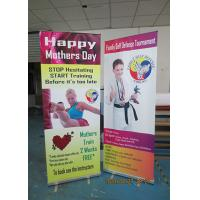 Buy cheap Light Weight Table Top Banners Display Interior Print Automatically from Wholesalers