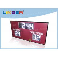 China 12inch 300mm Digits in White Color Led Electronic Scoreboard for American Markets factory