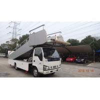 China High Loading Aircraft Boarding Stairs , Airplane Steps Ladder Easy Moving factory