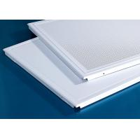 China 600x600MM Acoustic Clip In Metal Aluminum Ceiling factory
