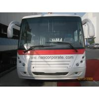 Full Aluminum Body Long Airport Passenger Bus With Short Turn Radius