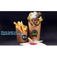 China French fries cone,chips french fries packaging,Size Kraft Cardboard Cone French Fries Printed Paper Cones bagease packag on sale