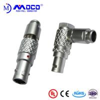 M12  6 pin straight and right angle male connectors for  audio cable