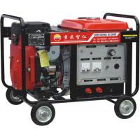 China 300A Electric Start Medium-frequency Internal Combustion Gasoline DC Arc Welder &Generator (AXQ1-300) factory