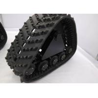 China Low Ground Pressure Snowmobile Track System , Vehicle Pickup Track System factory