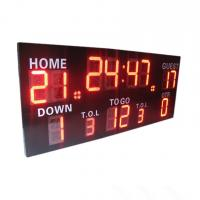China Wireless Control Germany / American Electronic Soccer / Football Scoreboard factory