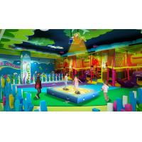 China Interatctive Projection Type Trampoline Games For Kids Shopping Mall Use factory