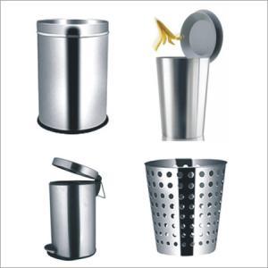 2012 decorative metal trash bin & trash can