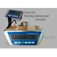 China Green LED Waterproof Weighing Scale Indicator / A304 Stainless Steel Bench Scale Indicator factory