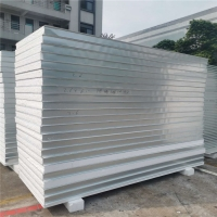 China 1150 type insulated eps sandwich panels with waterproof for internal and external wall factory