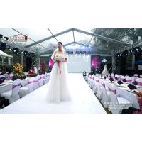 Quality 500 Guests Aluminum Frame Transparent Wedding Party Tent With Luxury Decoration wholesale