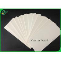 Buy cheap 1.4mm 100% Virgin Pulp White Coaster Board For Making Car Air Fresher Or Coaster from wholesalers