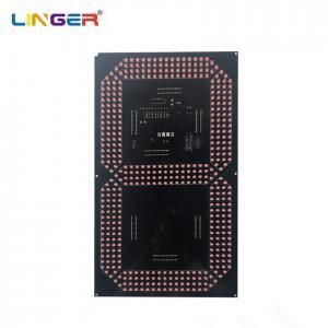 China 16 Inch Large Model Of 7 Segment Digit Board 250mm*440mm High Brightness factory
