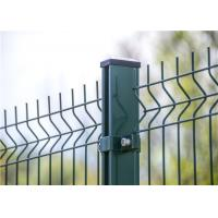 China Green Powder Coating Welded Wire Mesh Fencing Panel 100 x 55 for isolation on sale