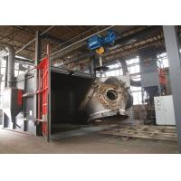 Buy cheap Rust Removal Shot Blast Cleaning Equipment For Forging Parts Heavy Duty 22KW from Wholesalers
