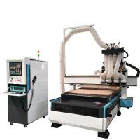 China Well Welded Wood Cutting Cnc Router Machine Auto Lubrication System Easy To Operate on sale