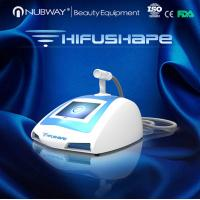 Buy cheap salon use high efficiency ultrasound machine portable HIFUSHAPE for weight loss from Wholesalers