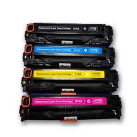 China Replacement for Canon CRG-731 CMYK Colour Toner Cartridges factory