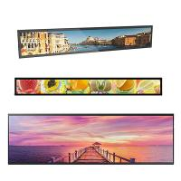 China 700 Ntis Stretched Bar Lcd Display 1920*540 Max Resolution 50,000 Hours Panel Life factory