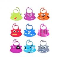 Buy cheap cute style silicone baby bib ,colorful silicone baby bibs from Wholesalers