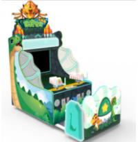 China Indoor Shooting Arcade Machine Two Players Mode Dino Water Blaster Theme factory