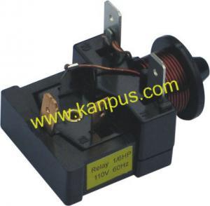China Refrigerator Black Danfoss short relay A-003 (compressor parts, A/C spare parts, HVAC/R parts, refrigerator parts) factory