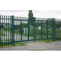 China Euro Style Free Standing Metal Palisade Fence , Cast Iron Fence Panels on sale