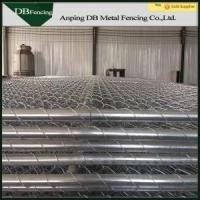 Buy cheap Portable Chain Link Temporary Fencing Panels 6