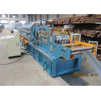 Buy cheap Per Cutting Roll Forming Machine For Purlin , 100-305 Change Sizes Automatically from Wholesalers