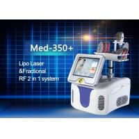 Buy cheap Perfect Combination Fractional RF And Diode Lipo Laser Machine High Efficiency from Wholesalers